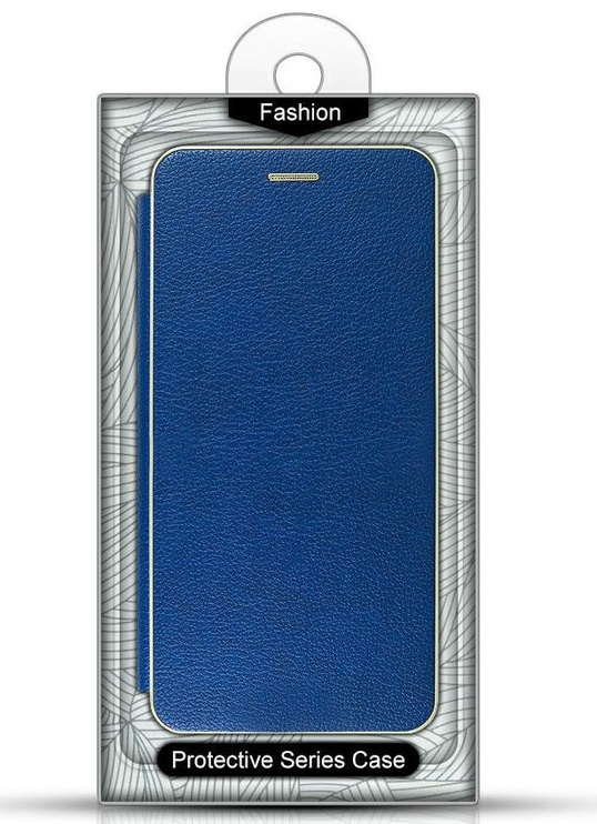 Mocco Frame Book Case For Samsung Galaxy S10 Plus Blue