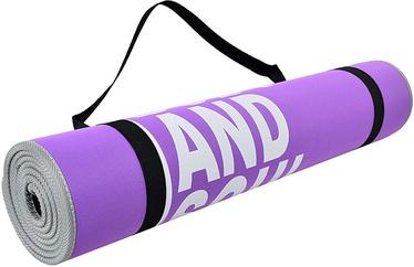 PROfit Exercise Mat Body and Soul 180x60x0.6cm Purple