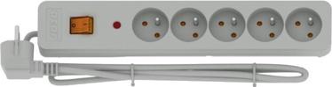 Стабилизатор напряжения (Surge Protector) Acar Surge Protector X5 5 Outlet White 3m