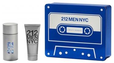 Komplekts vīriešiem Carolina Herrera 212 NYC Men 2pcs Set 200 ml EDT