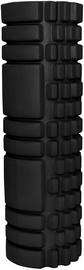 Массажный валик SportVida EVA Exercise And Massage Foam Roller 45x14cm Black