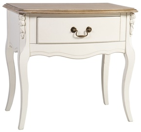 Naktsgaldiņš Home4you Elizabeth 74798 Antique White