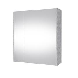 Vannas istabas skapītis Domoletti, pelēka, 14 x 64 cm x 67 cm