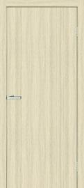 Полотно межкомнатной двери, белый/дубовый, 200 см x 80 см x 4 см