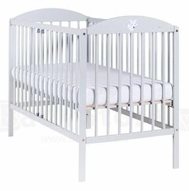 Bērnu gulta Drewex Lisek Grey, 124x65 cm