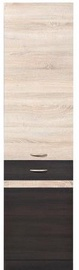 Black Red White Kitchen Bottom Cabinet Right Junona Line D2D/50/195P Sonoma Oak/Wenge