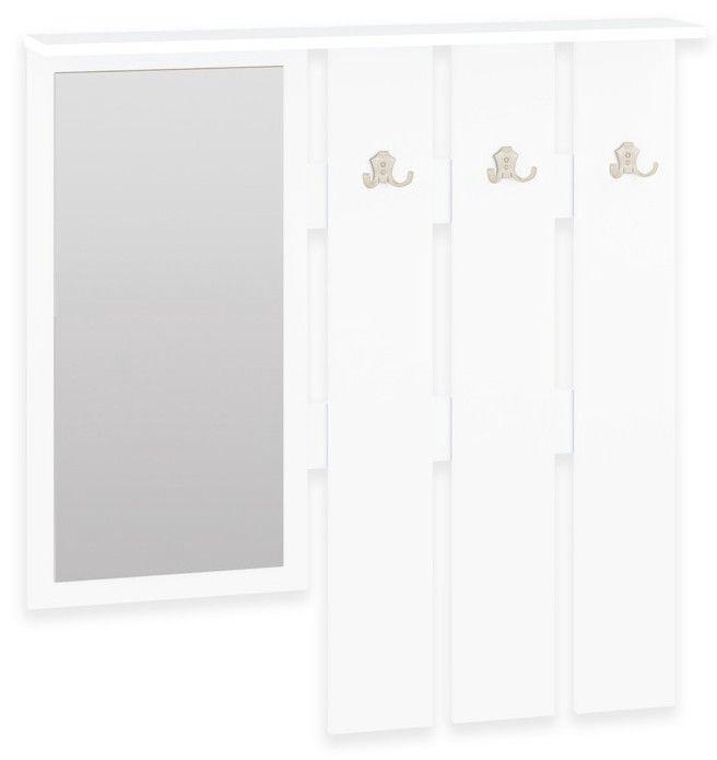 ML Meble Hallway Unit Orlando III White/Sonoma Oak
