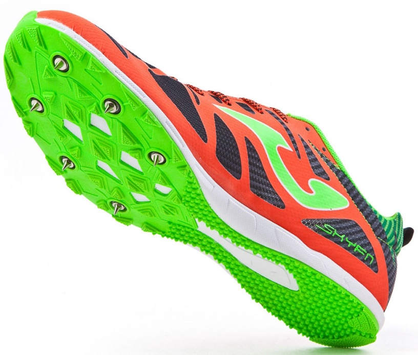 Joma Spikes 6728 Orange Black Green 39