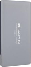Ārējs akumulators Canyon CNS-TPBP10DG Dark Grey, 10000 mAh