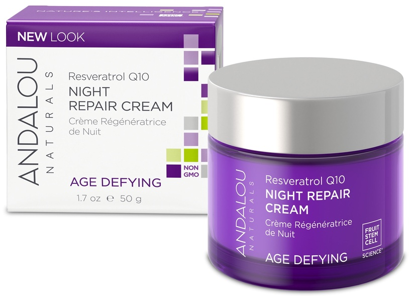 Andalou Age Defying Night Repair Cream 50g