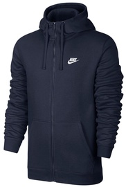 Nike Club Full Zip Hoodie 804389 451 Navy S