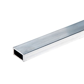 Aluminium Rectangular Pipe 20x10mm 2m