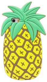 Mocco 3D Pineapple Back Case For Apple iPhone 6 Plus/6s Plus Yellow