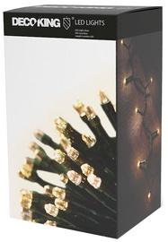Elektriskā virtene DecoKing LED, silti balta, 843 cm