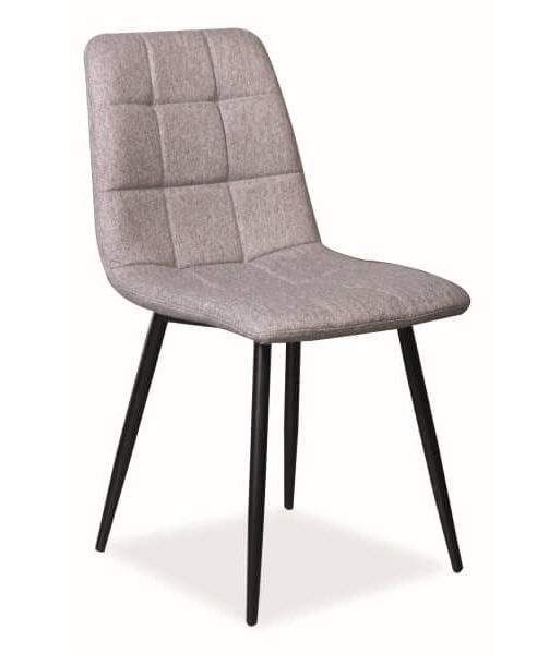 Ēdamistabas krēsls Signal Meble Mila Grey, 1 gab.