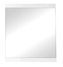 Spogulis Black Red White Boca White, stiprināms, 80x90 cm