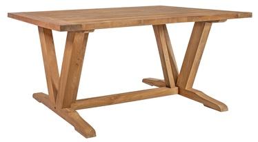 Садовый стол Home4you Katalina Brown, 220 x 100 x 78 см