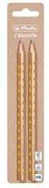 Карандаши Herlitz Pencils Glam 2pcs