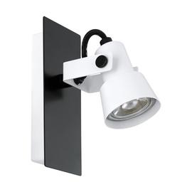 Gaismeklis Eglo Trillo 97371 Wall Lamp 5W GU10 White/Black