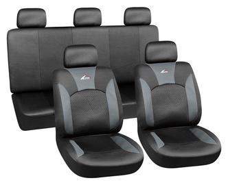 Autoserio Seat Cover Set AG-28682/4 8pcs Black