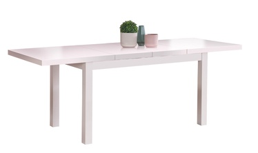 Pusdienu galds Halmar Tiago 2 White, 1400x800x760 mm