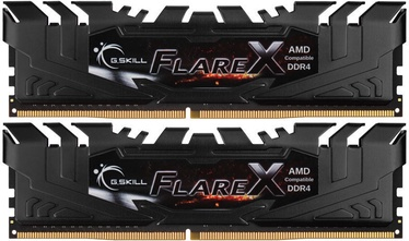 G.SKILL Flare X for AMD Black 32GB 3200MHz CL16 DDR4 KIT OF 2 F4-3200C16D-32GFX