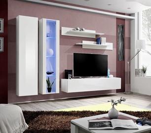 Dzīvojamās istabas mēbeļu komplekts ASM Fly A4 White