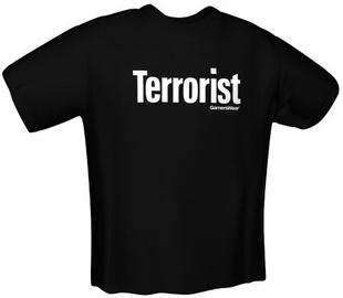 GamersWear Terrorist T-Shirt Black S
