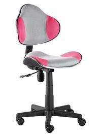 Biroja krēsls Signal Meble Q-G2 Pink/Gray