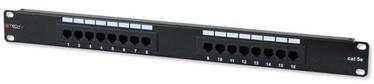 Коммутационная панель Techly Cat. 5e 16 x RJ-45 Patch Panel
