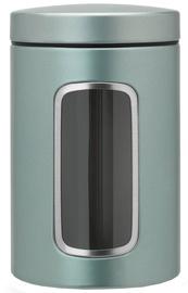 Brabantia Window Canister 1.4l Metallic Mint