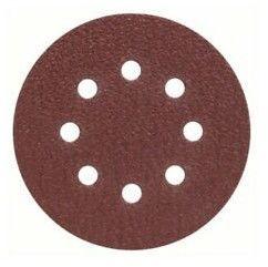 Slīpēšanas disks Bosch 2607019491, K40, 125 mm, 25 gab.