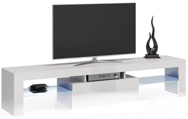 ТВ стол Top E Shop Deko 160, белый, 1600x400x450 мм