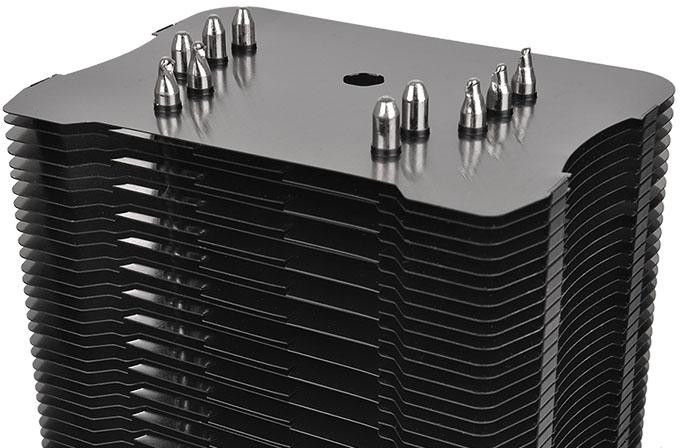 Thermaltake Riing Silent 12 Pro CPU Cooler CL-P021-CA12RE-A