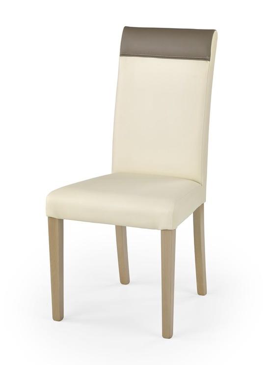 Ēdamistabas krēsls Halmar Norbert Sonoma Oak/Cream