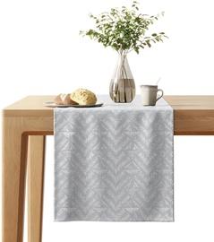 AmeliaHome Blackout Navia Tablecloth Silver 40x140cm