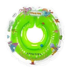 Piepūšams riņķis Baby Swimmer Inflatable Neck Ring, zaļa