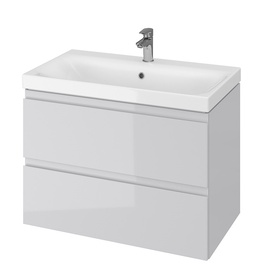 Izlietnes skapis Cersanit Bottom Cabinet With Washbasin MODUO80cm Gray