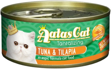 Aatas Cat Tantalizing Tuna & Tilapia 80g