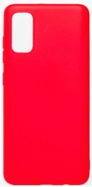 Evelatus Soft Touch Back Case For Samsung Galaxy S20 Red