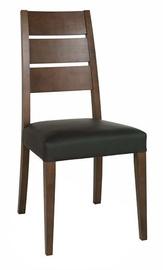 Ēdamistabas krēsls MN Dark Brown Black 3075014