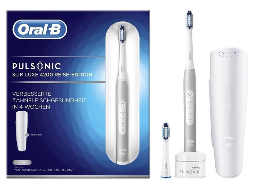 Электрическая зубная щетка Oral-B Pulsonic SlimOne 4200