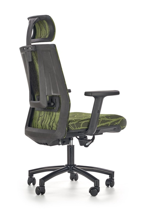 Halmar Office Chair Tropic Black/Green