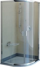 Dušas kabīne Ravak Blix BLCP4-90, pusapaļā, bez paliktņa, 900x900x1900 mm