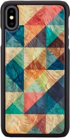 iKins Mosaic Back Case For Apple iPhone X/XS Black
