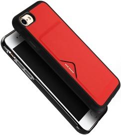 Dux Ducis Pocard Series Premium Back Case For Apple iPhone 7/8 Red