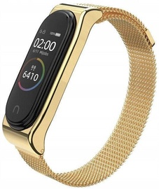 Tech-Protect Stainless Steel Strap For Xiaomi Mi Band 3/4 Champagne Gold