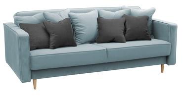 Dīvāngulta Idzczak Meble Niko Light Blue, 206 x 100 x 86 cm
