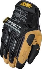 Darba cimdi Mechanix Wear M-Pact Gloves Black/Brown Size 8