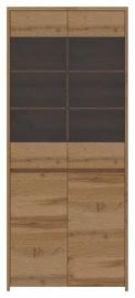 Vitrīna WIPMEB Tahoe TA-12 Wotan Oak, 90x40x210 cm